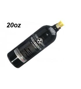 BOUTEILLE DE 20 OZ CO2 AVEC PIN VALVE - CAPACITE DE 1100 TIRS
