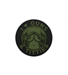 PATCH PVC GUNS ET TITIES Od
